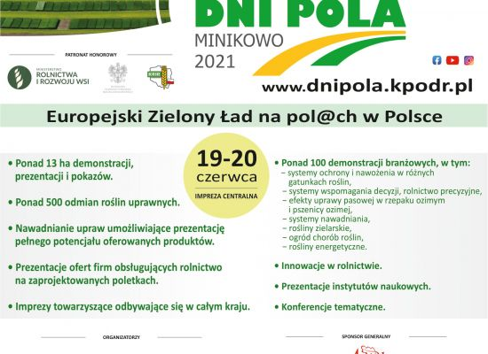 Krajowe Dni Pola Minikowo 2021